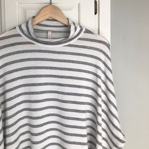 Breezy Striped Tunic Top